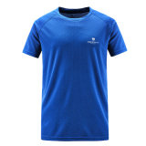 Wholesale 100% Polyester Mesh Fabric Dri Fit Running Shirt
