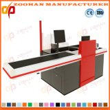 Supermarket Shop Checkout Counter Cashier Desk with Conveyor Belt (Zhc27)