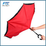 Hot Selling Customized Reverse Umbrella Double Layer Inverted Umbrella