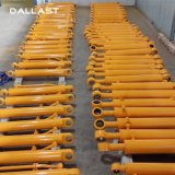 Double Acting Hydraulic Oil Cylinder with Round Oil Piston Rod