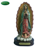 Home Decor Polyresin Religious Figurines Virgin Mary Mexico Guadalupe