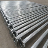8m Hot Deep Galvanized Conical Lighting Pole