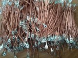 High Voltage Grounding Flexible Cable Tinned Copper Braid Shielding Cable