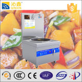Stainless Steel Electric 15kw Commercial Induction Stove