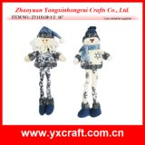 Christmas Decoration (ZY11S138-1-2) Christmas Santa Gift Ornament Craft Item