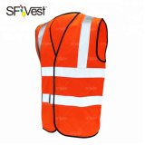 High Quality 100% Polyesterreflective Tape with Green Waistcoat Adult Vest