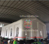 Rectangle White Inflatable Exhibition Tents Manufacturer