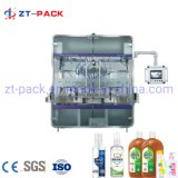 High Quality Easy Operation Linear Gravity Type Computer Control Chemical Dettol Disinfectant Liquid Filling Machine