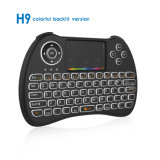 H9 Backlit Computer Smart TV Remote Control Air Fly Mouse H9 Backlit 2.4G Wireless Mini Keyboard