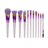 11 PCS Wholesale Premium Cosmetics Accessory Powder Blush Eye Face Eyeshadow Lip Contour Professional Makeup Brush