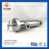 Stainless Steel Sanitary Straight Pipeline Strainer Filter Fitting