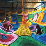 Outdoor Rainbow Nets Custom Indoor Play Centre Equipment Indoor Climbing Nets