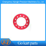 Hard Anodized 6061-T6 Kart Racing Sprockets
