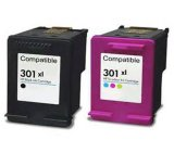 High Quality Re-Manufactured 301 Compatible Color Ink Cartridge for HP