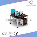 Modern Two Seats Straight Office Partition