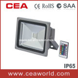 30W RGB LED Floodlight with Remote Controller LED Flood Light RGB Light LED Light