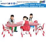 Children Plastic Table School Furniture Hc-1802