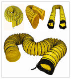 Air Ventilator Yellow Flexible Ducting Hose