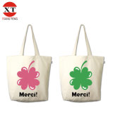 Silk Screen Canvas Promotional Shopping Tote Bag