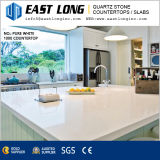 Artificial Quartz Stone for Kitchen Tops with Polished Surface