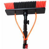 Water Fed Pole Telescopic Solar Panel Wash Cleaning Brush