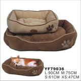 Suede Cheap Pet Bed for Dogs, Dog Supply (YF79036)