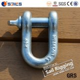 Us Type Screw Pin Chain Shackle Stright G210