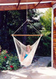 Polyester Cotton Rope Swing Hammock