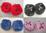 Fuzzy Plush Cubic Hanging Dice (PM001)