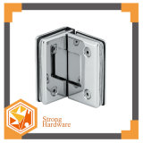 Shower Glass Door Bevel Circinal Angle Double Side Hinge