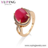 13722 Newest Xuping Fashion Lady′s Ring with 18K Gold Plated