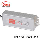 100W 24V 4A IP67 Waterproof Outdoor Constant Voltage LED Driver