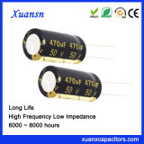 Popular 50V 470UF Capacitor Long Life Aluminum Electrolytic Capacitor
