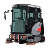 Battery Operation Street Design Full Cover Cabin Road Sweeper (S1900ED) for Cleaning Road and Garden Brick Paved Floor