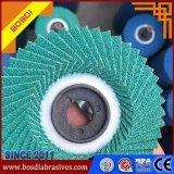 Zircounium Flap Disc Abrasives Flap Wheel Grinding Metal, Welding, Inox, Stainless Steel, 100X16mm, 40#, 60#, 80#, 100#, 120#