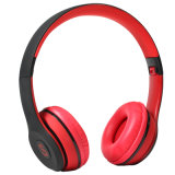 Bluetooth Headphone Over Ear with Hi-Fi Stereo Foldable, Soft Memory-Protein Earmuffs, W/ Built-in Mic and Wired Mode for PC/ Cell Phones/ TV