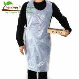 Food Grade Poly Masterchef Apron Disposable PE Apron Disposable LDPE/HDPE Apron House Cleaning Cook