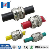 Hnx Waterproof Metal Brass Nickel Plated Cable Gland M8-M120