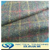 Wool Polyester Mixed Wool Fabric, Color Mixed Fabric