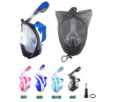 2018 Top Snorkel Mask Scuba Diving Gear Masks Full Face Snorkel Masks Free Diving Latest Leisure Diving