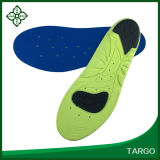 Shock Absorption PU Sports Insoles for Sore Feet Relief