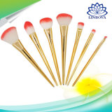 Professional 7PCS Rt Makeup Brushes Set Powder Foundation Eyeshadow Make up Brushes Cosmetics Soft Synthetic Hair for Valentine's Gifts