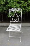 Competive Price Antique Design Cheap Round Shape Folding Chair for Patio