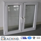Swing Opening UPVC Profile Windows Double Glass Casement Window