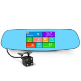 Most Popular 5.0 Inch IPS Multifunctional Dual Record DVR Mirror with GPS Navigation & Rearview Function