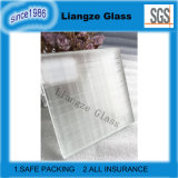 Square Drawing Art Glass with Frosted