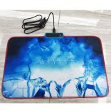Soft Rubber Gaming Mouse Pad, LED Backlight 10.28.60.2 in, Blue