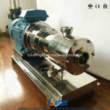Stainless Steel Tomato Paste Homogenizer Pump Emulsione Pompa Acciaio