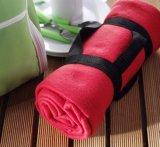 Waterproof Rug Indoor Outdoor Rugs Fleece Picnic Blanket with Handle