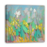 Impressionism Landscape Waterlily - 002 on Oil Painting